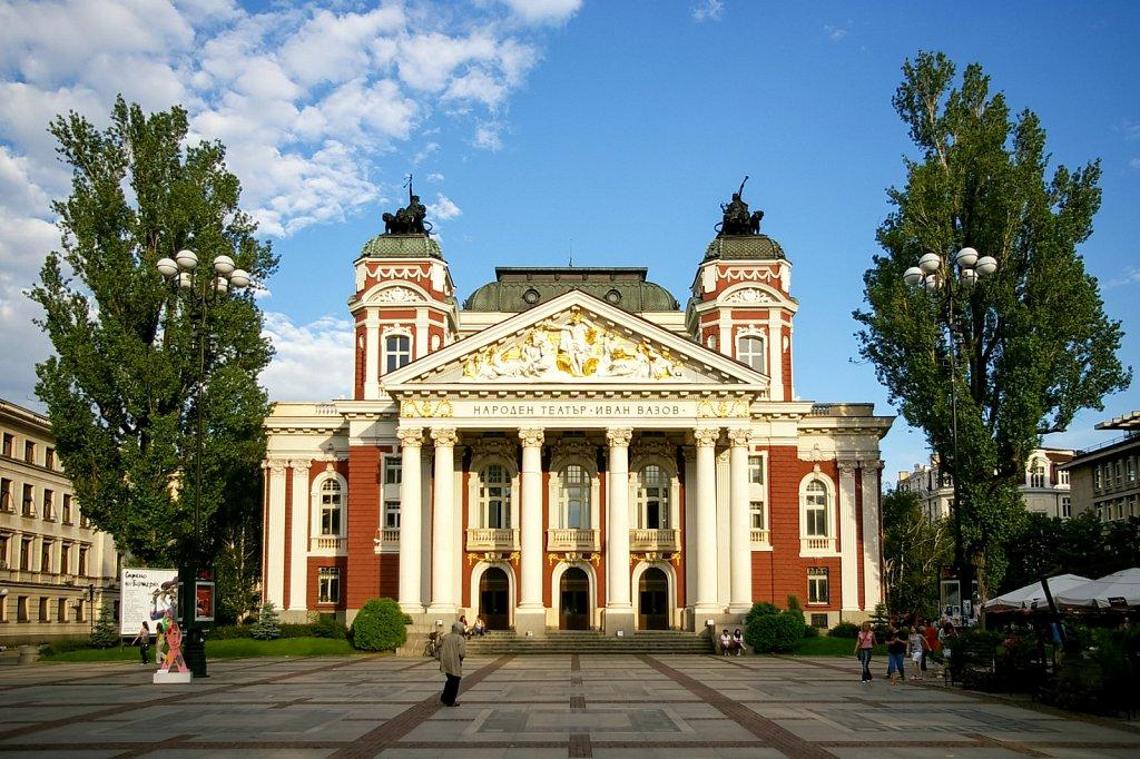 National Bulgarian theatre Ivan Vazov,