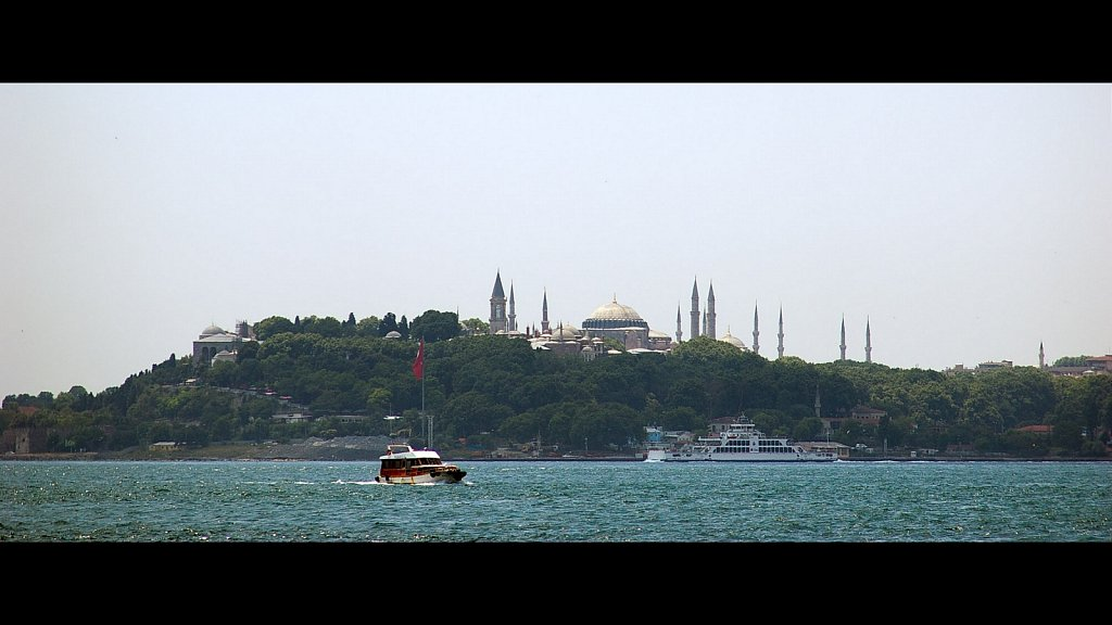 Golden Horn and Hagia Sophia